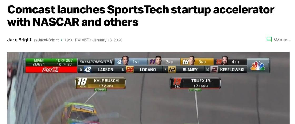 Image1_Comcast SportsTech Launch_NASCAR-1